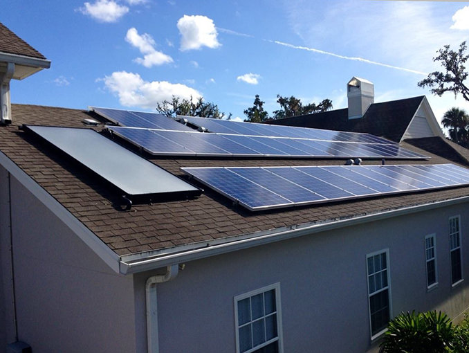 Residential Solar Hot Water