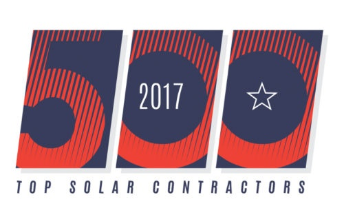 2017 #1 Solar Residential Contractor in Florida
