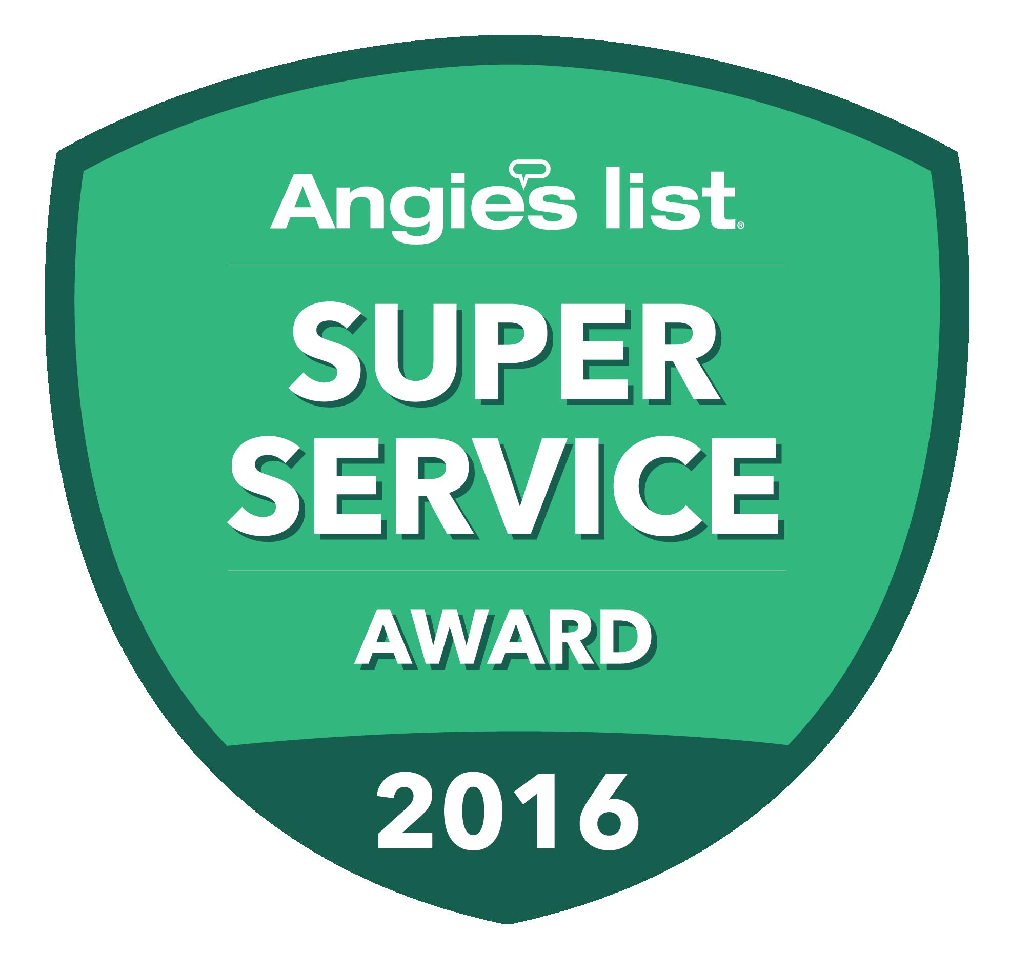 Superior Solar - Angies List Award
